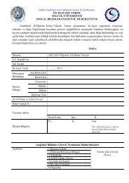 Enstitünüz II.Öğretim Tezsiz Yüksek Lisans programına ön kayıt ...