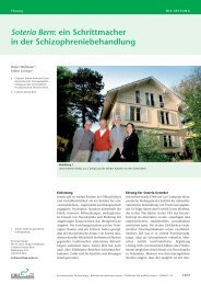 Soteria Bern - Schweizerische Ärztezeitung
