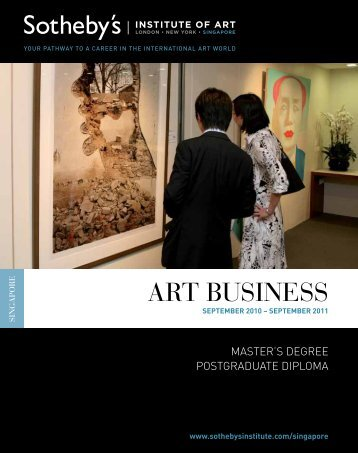 ART BUSINESS - Sotheby's Institute of Art
