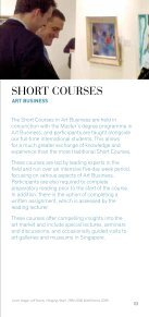SHORT COURSES - Sotheby's Institute of Art - Page 3