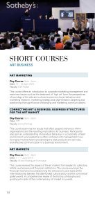 SHORT COURSES - Sotheby's Institute of Art - Page 4