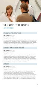 SHORT COURSES - Sotheby's Institute of Art - Page 5