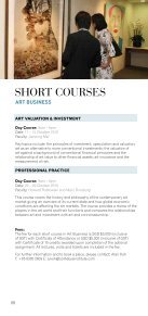 SHORT COURSES - Sotheby's Institute of Art - Page 6