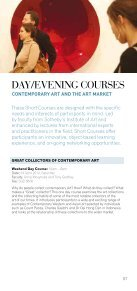 SHORT COURSES - Sotheby's Institute of Art - Page 7