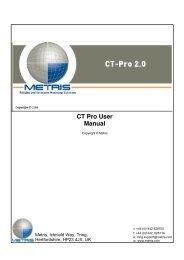CT Pro User Manual - University of Southampton
