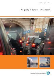 Air quality in Europe — 2012 report — European Environment ...
