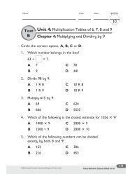 3rd Unit 4 Chapter 4 T... - SchoolRack