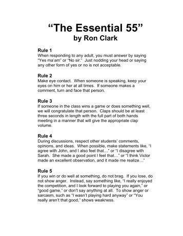 """The Essential 55"" - SchoolRack"