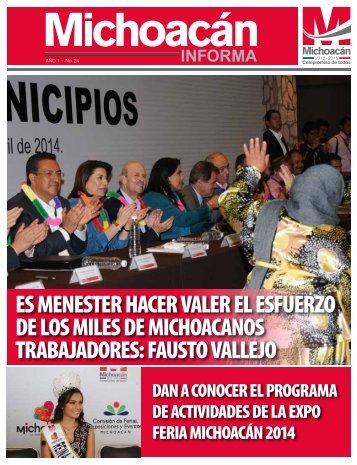 Michoacán Informa #24