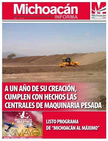 Michoacán Informa #25