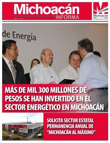 Michoacán Informa #27