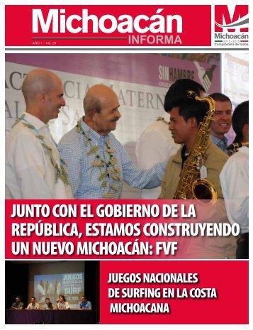 Michoacan Informa #29