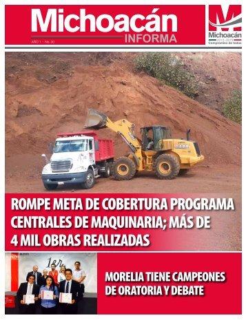 Michoacán Informa #30