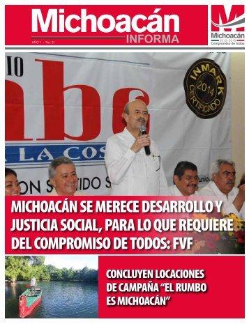 Michoacán Informa #31