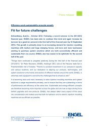 Fit for future challenges - Engel  Austria