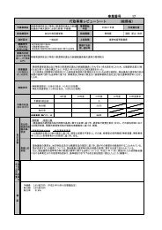 事業番号 17 行政事業レビューシート (総務省)