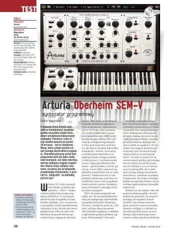 OPIS Estrada I Studio - SOUND.PL