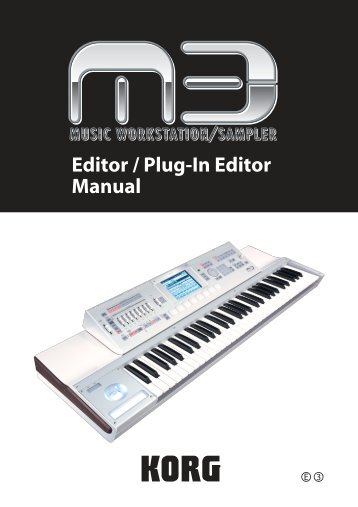 M3 Editor/Plug-In Editor Manual - Mega Music
