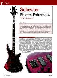 Test modelu Stiletto Extreme-4 (PDF, 265KB) - Mega Music
