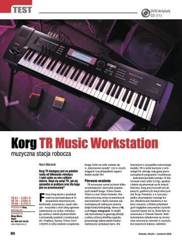 Korg TR Music Workstation - Mega Music