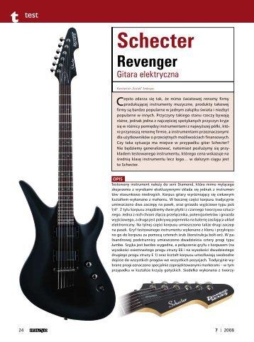 Test modelu Revenger (PDF, 337KB) - Mega Music