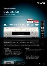 DVD-2500BT - Sound Hi Fi