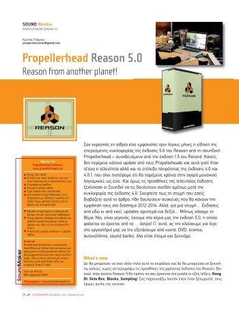Propellerhead Reason 5.0 - soundmaker