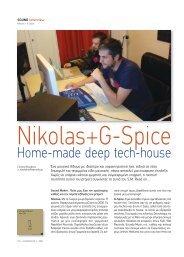 Home-made deep tech-house - soundmaker