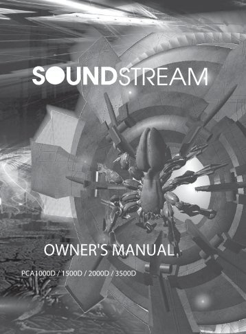 pca class d series - Soundstream