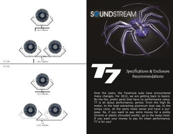 Owner's Manual - Soundstream