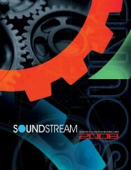 2008 Catalog - Soundstream