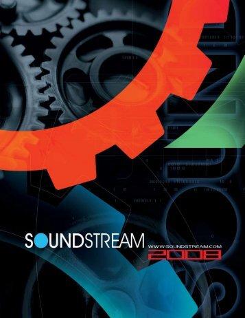 2008 Catalog - Soundstream
