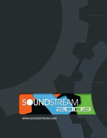 2009 Catalog - Soundstream