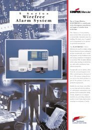 Scantronic 524R Intruder alarm system control panels & accessories ...