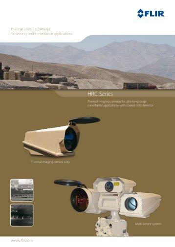 FLIR Systems HRC-E CCTV cameras product datasheet