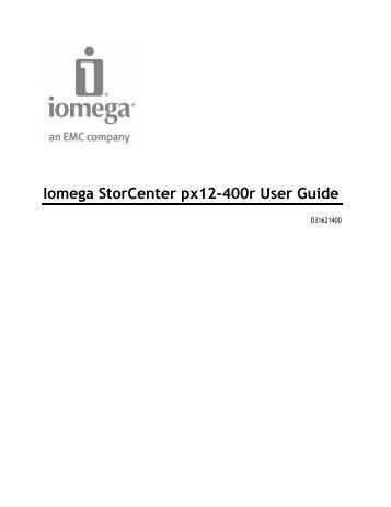 iomega storcenter px2 300d user guide sourcetech rh yumpu com iomega storcenter ix2-200 manual español iomega storcenter ix2-200 user manual pdf