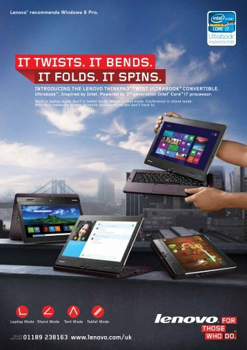 ThinkPad Twist Ultrabook - Sourcetech