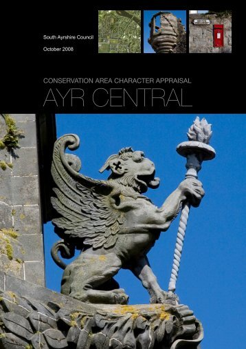 Ayr Central Conservation Area Character Appraisal - South Ayrshire ...