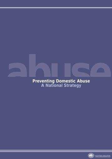 Prevention Strategy 24pp tp - LGBT Domestic Abuse