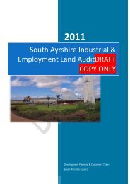 South Ayrshire Industrial & Employment Land Audit