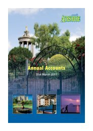 Annual Accounts - Year to March 2011 - South Ayrshire Council
