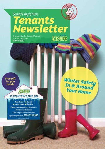 Tenants Newsletter - South Ayrshire Council