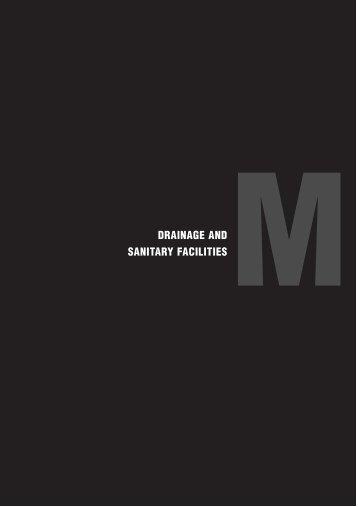 DRAINAGE AND SANITARY FACILITIES M - South Ayrshire Council