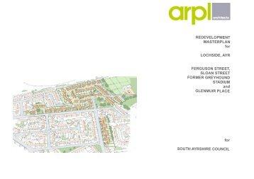 Lochside Masterplan - South Ayrshire Council
