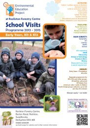 Primary School and Early Years Environmental Education Programme