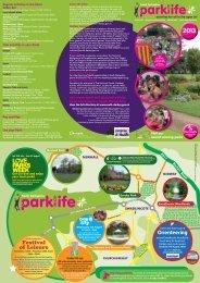 Parklife Leaflet 2013 - South Derbyshire District Council