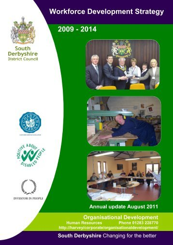 Workforce Development Strategy - South Derbyshire District Council