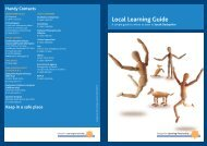 Local Learning Guide - South Derbyshire District Council