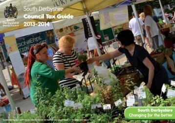 Council Tax Leaflet 2013-14 - SDDC - South Derbyshire District ...