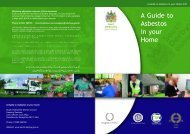 Asbestos in your home (3403KB) - South Derbyshire District Council